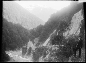 View of the Otira Gorge