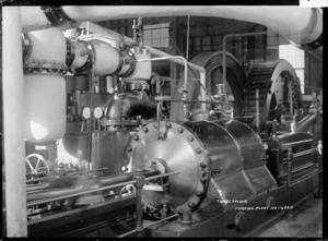 Thames-Hauraki pumping plant