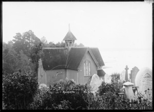 St Stephen's Church and burial ground, Judges Bay, Parnell