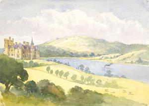 [Fox, William] 1812-1893 :Gov[ernmen]t House Hobart [Tasmania, 1865?]
