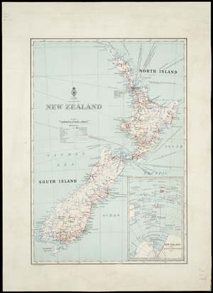 New Zealand [cartographic material] / drawn by Lands and Survey Dept., N.Z..