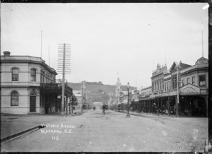 View of Victoria Avenue, Wanganui