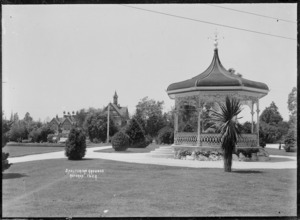 Band rotunda in the grounds of the Government Sanatorium and Baths at Rotorua