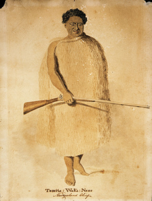 [Merrett, Joseph Jenner] 1815-1854 :Tomita ; Waka ; Nene, New Zealand Chief. 1846?]