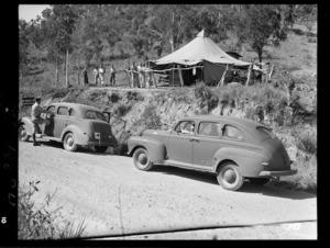 World War II control post, Moindou Pass, New Caledonia
