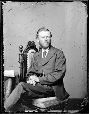 Mr Hindley - Photograph taken by Thompson and Daley of Wanganui