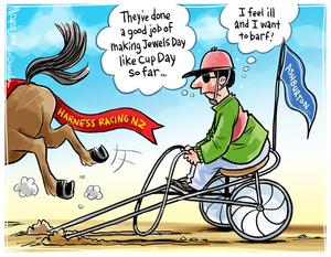 [Harness Racing New Zealand organises Harness Jewels race day at Ashburton]