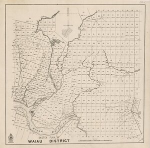 Sketch plan of Waiau District [electronic resource].