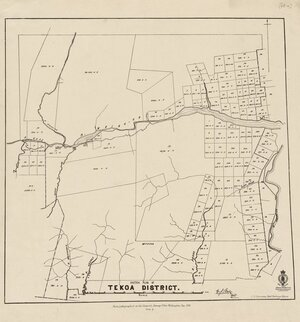 Sketch plan of Tekoa District [electronic resource].