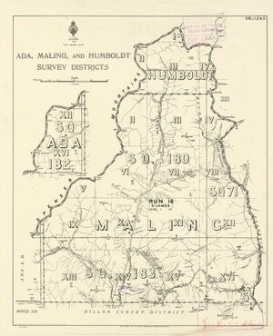 Ada, Maling and Humboldt survey districts [electronic resource].