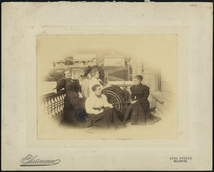 The daughters of William and Emily Richmond - Photograph taken by Herrmann