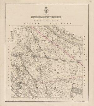 Hawkins Survey District [electronic resource] / drawn by J.M. Kemp.