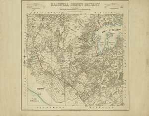 Halswell Survey District [electronic resource] / drawn by G.P. Wilson.