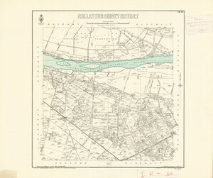 Rolleston Survey District [electronic resource] / drawn by J.M. Kemp, August 1887.