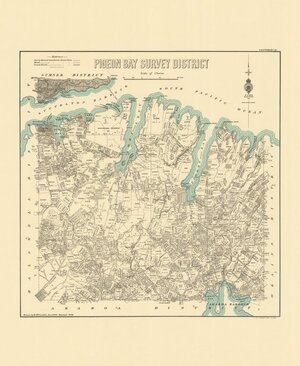 Pigeon Bay Survey District [electronic resource] / drawn by H. McCardell, June 1889.