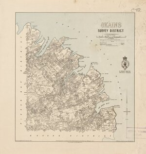 Okains Survey District [electronic resource] / drawn by H. McCardell.