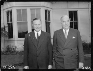 Sir Bernard Freyberg and Sir Robert Menzies