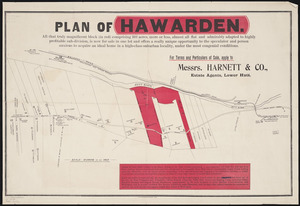 Plan of Hawarden [cartographic material].