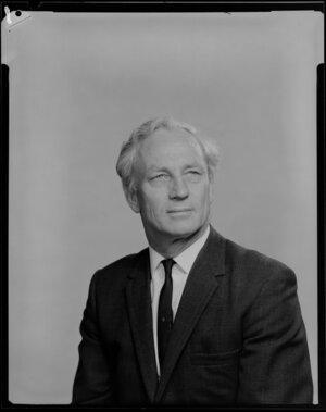 Portrait of Mr K C Lockett