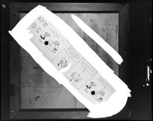 `B C' Cartoon strip