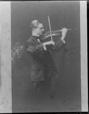 Miss Bennett. Violin Player.