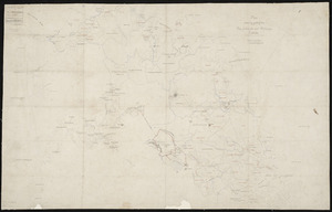 [Creator unknown] :Plan shewing part of the Bay of Islands and Hokianga districts [ms map]. [By the] General Survey Office, Auckland, 25th Sept., 1865.