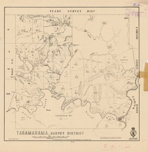 Taramarama Survey District [electronic resource] / drawn by W. Hugh Mocatta.