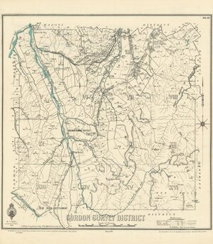 Gordon Survey District [electronic resource] / J.G. Kelly, draughtsman, May 1899 ; marked up to Sep. '22.