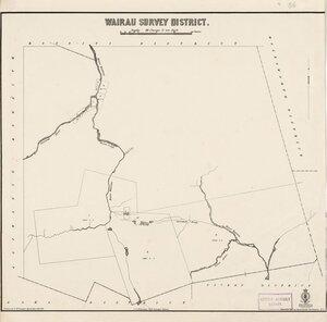 Wairau Survey District [electronic resource] / drawn by H. McCardell, December 16th 1879.