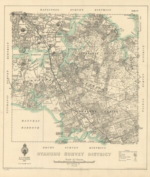 Otahuhu Survey District [electronic resource] / delt. T.P. Mahony, '32.