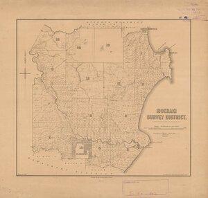 Moeraki Survey District [electronic resource] / W. Spreat, lith.