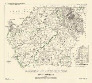 Waitahuna East & Waitahuna West Survey Districts [electronic resource].