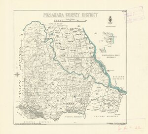 Pomahaka Survey District [electronic resource] / drawn by S.A. Park, December 1915.