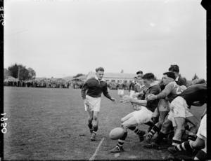 British Isles versus Wairarapa-Bush rugby game