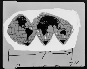 Mike Osborne copy negative World Map