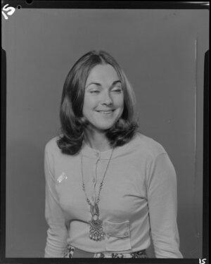 Portrait of Miss Carol Harrap