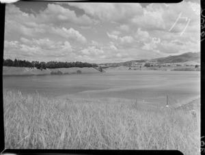 Part 1 of a 3 part panorama of Lake Karapiro