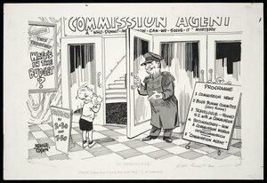 Colvin, Neville Maurice, 1918-1991:The commissionaire. [1955-1956]