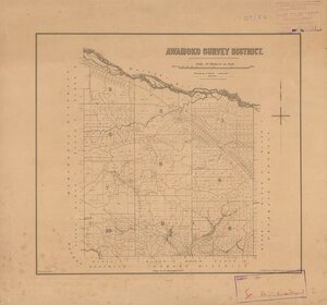 Awamoko Survey District [electronic resource] / W. Spreat, lith.