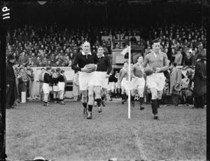 British Isles versus Wellington rugby game