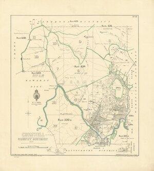 Cromwell Survey District [electronic resource] / A.J. Morrison, June 1914.
