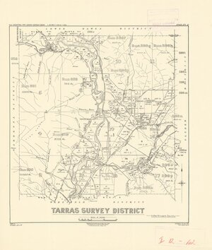 Tarras Survey District in the Vincent County [electronic resource]