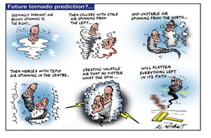 Nisbet, Alistair, 1958- :Future tornado predictions?... 8 May 2011