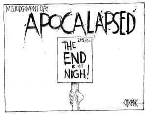 Winter, Mark 1958- :Apocalapsed - misjudgement day. 23 May 2011