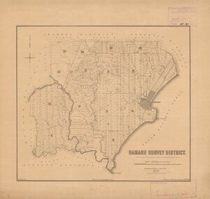 Oamaru Survey District [electronic resource] / W. Spreat, lith.