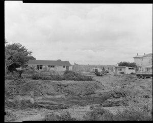 Business building site, Wellington, Unit Construction