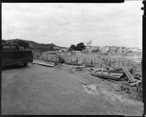 Cubitt Wells, construction site