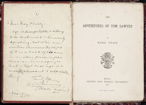 The adventures of Tom Sawyer / by Mark Twain.