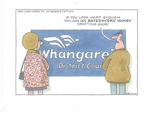 New logo for Whangarei District Council