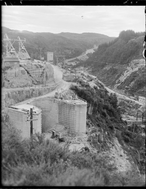 Hydro station at Maraetai